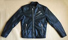 Diesel L-Oyton Leather Jacket Biker Lederjacke Medium