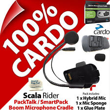 Cardo Scala Rider Boom Mic Microphone Cradle PackTalk /SmartPack Helmet Intercom