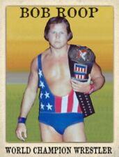 Custom made Bob Roop wrestling card LJACards Series 2
