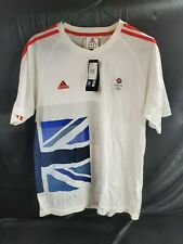 Adidas Team GB Great Britain London 2012 Olympic Football Soccer Jersey Size L