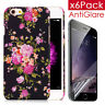 Shockproof Back Rubber soft Case Cover for Apple iPhone 6 6s /6 6S PLUS+Film