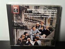 Marriner/Britten - The Young Person's Guide to the Orchestra (CD, EMI, Japan)