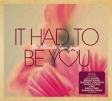 It Had to Be You Various Artists CD 3 Disc BOXSET