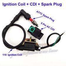 Ignition Coil CDI Spark Plug For ATV Quad Pit Dirt Bike 50 70 90cc 110cc 125cc