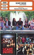 Movie Card. Fiche Cinéma. Scary movie (U.S.A.) Keenen Ivory Wayans 2000