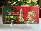Vintage 1940's NOMA BUBBLE-LITES SET in ORIGINAL BOX Catalog No 509 Bubble Light