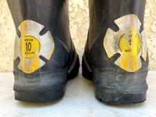 Thorogood Mens 10 Medium Hellfire Structural Firefighting Boots 807 6003 B