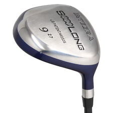 "Senior Men's Integra SoooLong 9 Wood Golf Club ""A"" Flex, Premium Arthritic Grip"