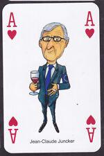 Jean-Claude Juncker.Brexit,Political 2017,Single playing Card Oliver Preston