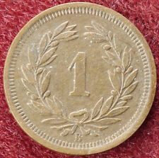 Switzerland 1 Rappen 1919 (D0205)