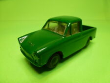 LION CAR DAF 750 VARIOMATIC PICKUP- GREEN 1:45 - GOOD CONDITION - REPAINTED