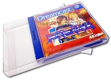 250 X Sega Dreamcast Boxprotectors / Schutzhüllen ☆ ☆