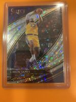Lebron James 2019-20 Select Hybrid Silver Disco SSP Courtside Prizm #261