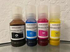 Sublimation Ink for Epson printers EcoTan 502 522 et 2720 2760 3710 3760 4700