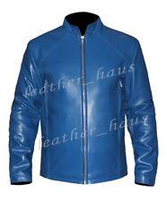 Chris Evans Captain America Winter Soldier Genuine Cow Leather Jacket #503