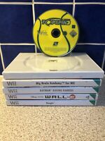 Wii Games Bundle Wall-E Topspin 3 Rayman Rabbids Big Brain Academy Boogie Joblot