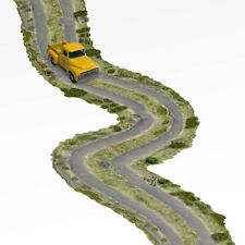 1/64 S Scale Off Road Two-Track Trail Real Roads Fits Matchbox, Hot Wheels