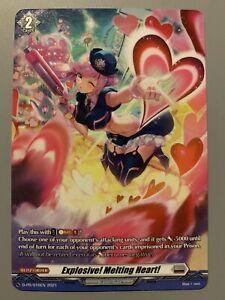 CARDFIGHT VANGUARD EXPLOSIVE! MELTING HEART! (BRANDT GATE) D-PR/016EN FULL-ART