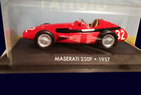 FANGIO COLLECTION - MASERATI 250F (1957) Diecast 1:43 La Nacion ARGENTINA