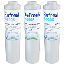 Refresh Water Filter - Fits KitchenAid KRFF302ESS Refrigerators (3Pack)