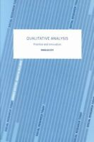 Qualitative Analysis : Practice and Innovation, Paperback by Ezzy, Douglas, B...