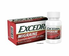 1 BOX Excedrin Migraine Pain Reliever Caplets - 24 Count Exp 01-2023 SHIPS FREE