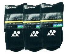 YONEX black badminton socks 3 pack