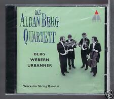 ALBAN BERG QUARTET CD NEW BERG WEBERN URBANNER WORKS FOR STRING QUARTET