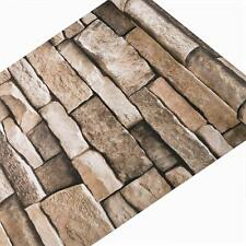 Stone Textured Removable Wallpaper Self-Adhesive Decora living room Bedroom DIY