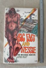 1979 Bigfoot and Nessie Two Mysterious Monsters by Angelo G. Resciniti