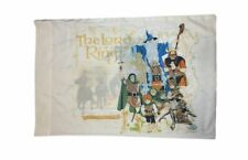 Lord of the Rings PillowCase Tolkien Enterprises Vintage Bedding 1978 Very Rare!