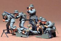 35038 Tamiya German Machine Gun Troops 1/35th Plastic Kit 1/35 Military