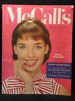 McCall's Magazine March 1955 Vintage California Fashion