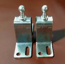 BALL STUD BRACKETS (2) for gas props spring struts KENCON 10mm Part #GPB-6  NEW