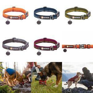 Dog Collar Light | Ruffwear Flat Out Webbing Dog Collar Adjustable Soft New 2021