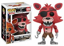 Funko Pop Games Five Nights At Freddy's: Foxy The Pirate Vinyl Action Figure Toy