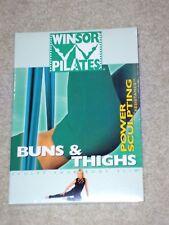 Winsor Pilates Power Sculpting with Resistance Buns & Thighs DVD Mari Winsor