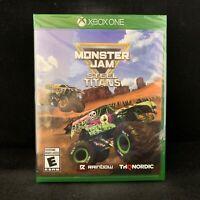 Monster Jam Steel Titans (Xbox One) BRAND NEW / Region Free