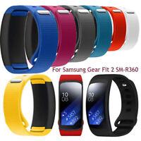 de montre de silicone bracelet bracelet sangle For Samsung Gear Fit 2 SM-R360