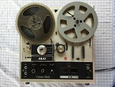 AKAI X-165D vintage reel to reel tape deck  recorder 1970s