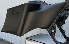 "HARLEY DAVIDSON STRETCHED EXTENDED SIDE COVERS 6"" BAGGER TOURING FLH 09-13"
