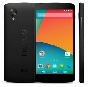 LG Google Nexus 5 Black 16GB 4G Unlock Simfree Android Smartphone D820
