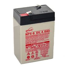 Enersys Genesis 6V 4AH Battery Replacement for Yuasa