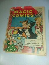 Magic Comics #119 king features 1949 blondie mandrake the magician golden age