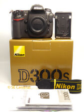 NIKON D300S DSLR CAMERA BODY ONLY *MINT CONDITION* 6110 ACTUATIONS * 7408020