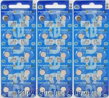 30 pcs 315 Swiss Renata Watch Batteries SR716SW SR716SW 0% MERCURY