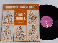 Fairport Convention  full house   pink Island label; original; ILPS-9130