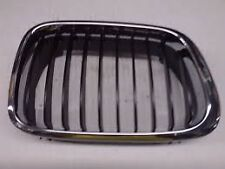 Kidney Grille Chrome/Black Right Hand Genuine BMW E46 3 Series 51138208488 -2001