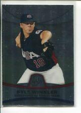 2010 Bowman Platinum Prospects Kyle Winkler PP49 Team USA