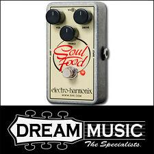 Electro Harmonix EHX Soul Food Transparent Boost OD Klone Guitar Pedal RRP$209